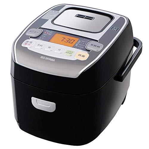 【アイリスオーヤマ】圧力IH炊飯器 3合 圧力IH式 極厚火釜