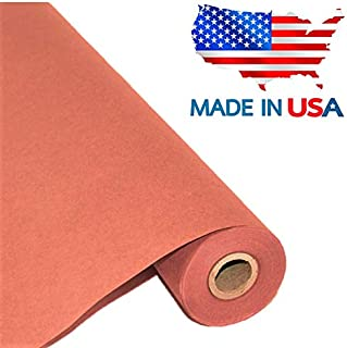 "Pink Butcher Kraft Paper Roll 17.75"" x 1200"" (100ft), Food Grade Butchers Peach Paper, Ideal for BBQ Smoking Wrapping of Meat and Brisket, All Natural Unwaxed, Unbleached, Uncoated, Made in USA"