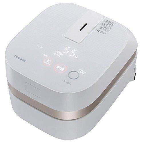 TOSHIBA IH rice cooker'charcoal stove this Hagama' (2.5 Go) RC-4ZWJ-W (Gran White)
