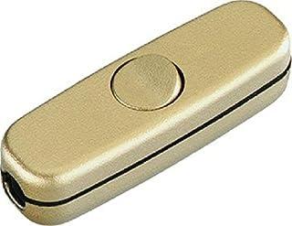 Bachmann 924046 BACH Schnurzwischenschalter 924.046 1polig Gold