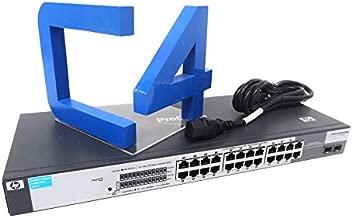 HP J9078A#ABA 1400-24 G 24-Port 10/100/1000 ProCurve Switch with 2 Mini GBI Ports Unmanaged Switch