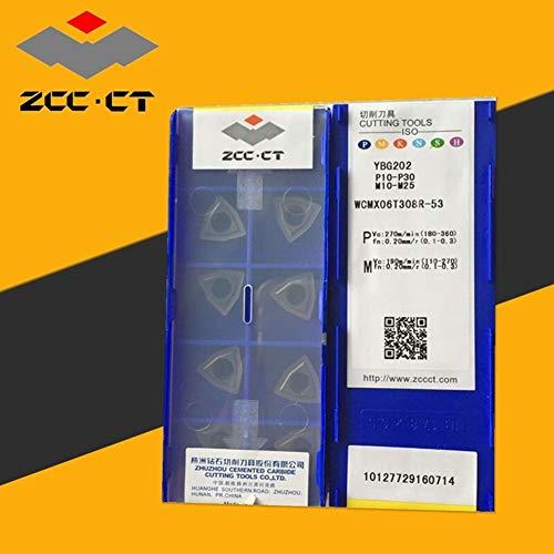 10pcs(1pack) WCMX06T308R-53 YBG202 CNC Carbird Insertsing