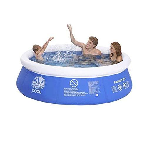 "Denny International 8 Feet & 10 Feet Fast Set Pools Summer Outdoor fun Round Paddling Pool (8 Feet x 26"" Pool)"