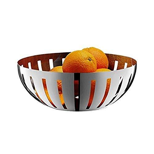 Zak! Designs Zack 30712 fruitschaal, zilverkleurig