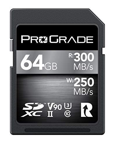 ProGrade Digital (プログレードデジタル) 【SDXC UHS-II V90】 COBALT 300R メモリーカード 正規輸入品 (64GB)