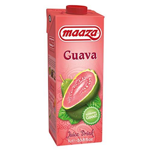 Maaza Guava Fruchtsaft 6 x 1 L Guaven Fruchtsaftgetränk