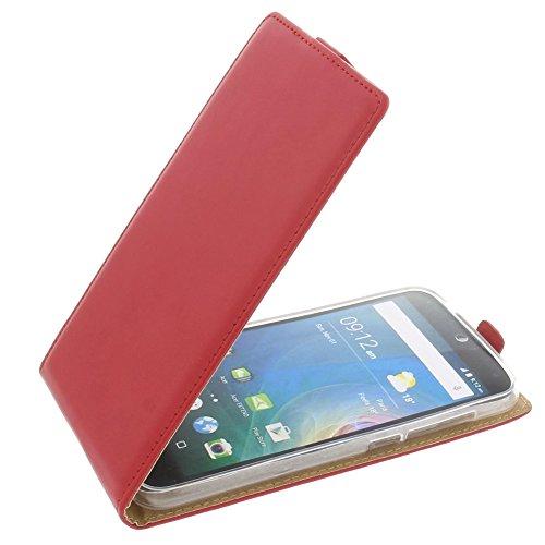 foto-kontor Tasche für Acer Liquid Z630 Liquid Z630S Liquid M630 Smartphone Flipstyle Schutz Hülle rot