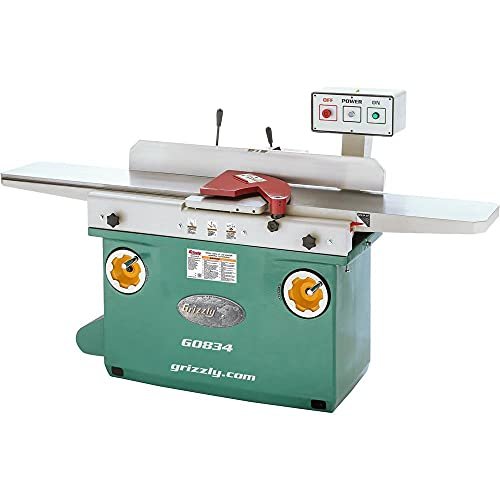 Grizzly Industrial G0834-12' x 84' Jointer with Spiral Cutterhead