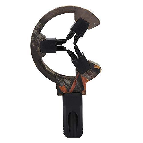 DEWIN Cepillo Descanso de Flecha, Arco Compuesto Tiro con Arco Captura Accesorio de Reposo de Flecha para Caza al Aire Libre para Mano Derecha e Izquierda