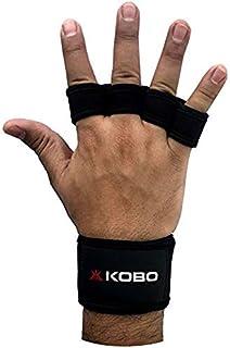 Kobo WTG-18 Neoprene Weight Lifting Gym Gloves, Medium (Black)