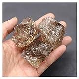 YSJJLRV Piedras de Chakra de Piedra de Cuarzo de Cristal humeante Natural Espécimen áspero Decoración de Casas minerales o decoración de jardín Acuario (Color : Smoky, Size : 1pcs (20 25g))