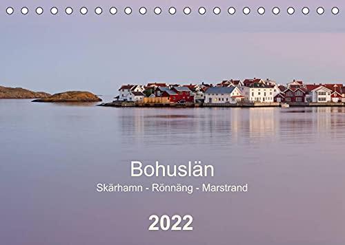 Bohuslän. Skärhamn - Rönnäng - Marstrand (Tischkalender 2022 DIN A5 quer): Idyllische Dörfer, zauberhafte Landschaften und eine traumhafte Schärenküste (Monatskalender, 14 Seiten )