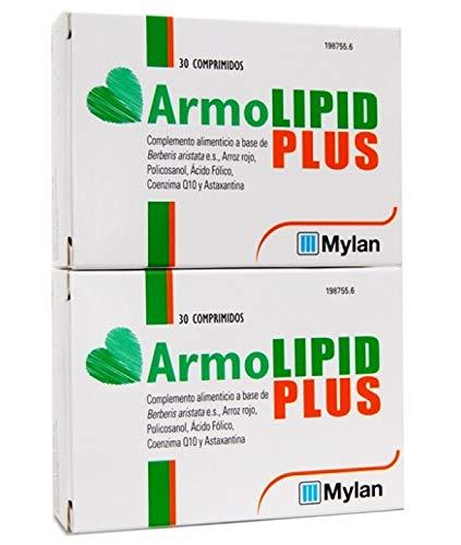 Armolipid Plus 30 Comprimidos - PACK 2UN. (total 60 comprimidos)