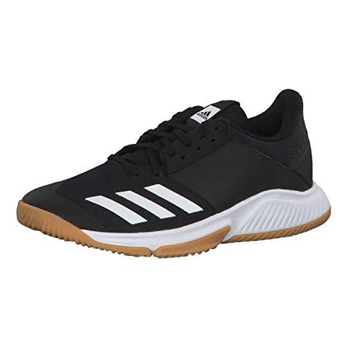 adidas Damen D97701_40 Volleyball Shoes, Cblack Ftwwht Gumm1, EU