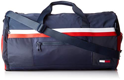 Tommy Hilfiger - Sport Mix Duffle Corp, Carteras Hombre, Azul (Corporate), 4.40 x 54.60 x 36.60 cm