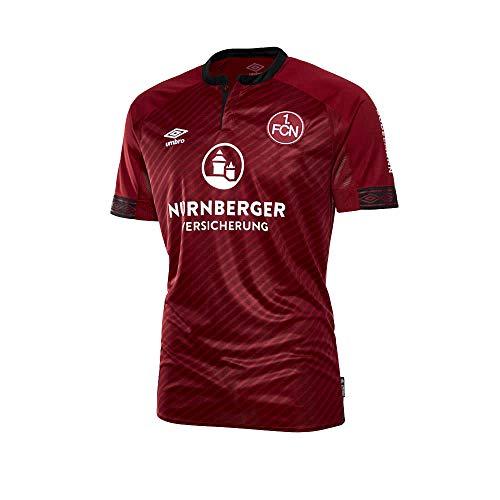 UMBRO Herren FC Nurnberg Home SS Jersey, rot, S