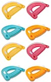 Intex Sit 'N Float Inflatable Colorful Floating Loungers, 8 Pack (Colors Vary)