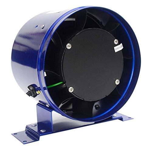 WYBFZTT-188 Ventilador de ventilación - Metal 6 Pulgadas Extractor Circular de conductos de ventilación del Ventilador de Gran Alcance y la ventilación de Alta Velocidad