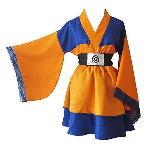 Charous Anime Naruto disfraz de cosplay de Halloween Lolita Kimono vestido para mujeres hombres colección completa