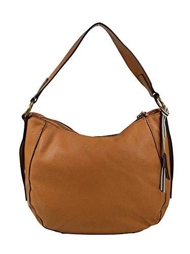 ESPRIT Damen Handtasche Tasche Henkeltasche Kiki Hobo Bag Braun 118EA1O007-230