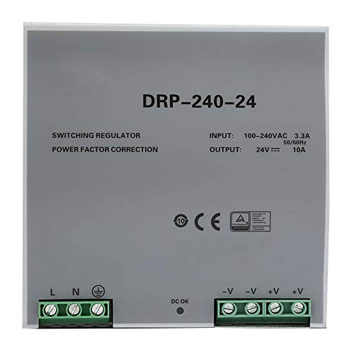 Din rail voeding, DRP-240-24 240 W 24 V din rail voeding Eenfasige schakelende voeding