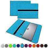 UC-Express Sleeve Hülle für Dell XPS 13 9380 9370 9360 9365 Tasche Filz Notebook Cover Laptop Hülle 13,3 Zoll Schutzhülle, Farben:Türkis