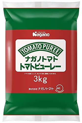 トマトピューレー食塩無添加(ピロー)3000g