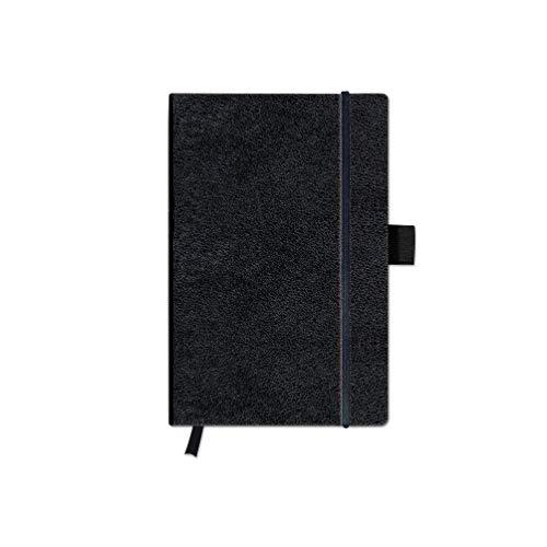 Herlitz 10789436 Notizbuch A6, my.book Classic, 96 Blatt, kariert, 1 Stück