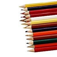 72色のプロフェッショナルオイルカラーの木製鉛筆画落書き鉛筆学校スケッチ鉛筆アート用品 学生さんと初心者専用 (Color : 24 Colors)
