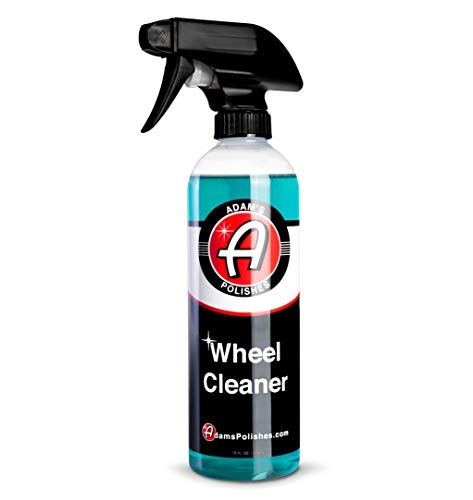 Adam's Wheel Cleaner 16oz - Tough Wheel Cleaning Spray for Car Wash Detailing | Rim Cleaner & Brake Dust Remover | Safe On Chrome Clear Coated & Plasti Dipped Wheels | Use w/Wheel Brush