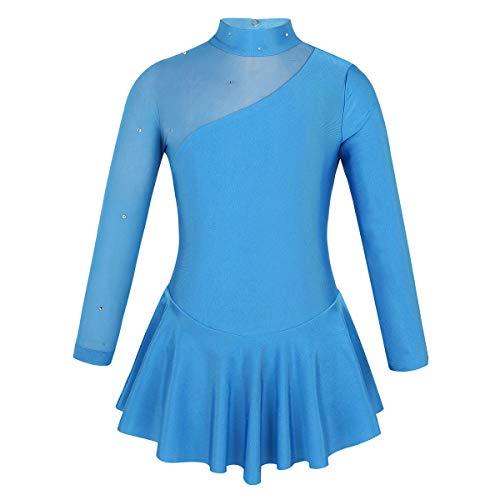 renvena Kids Girls Boy Cut High Waist Colorful Sports Shorts Ballet Dance Performance Active Bottoms