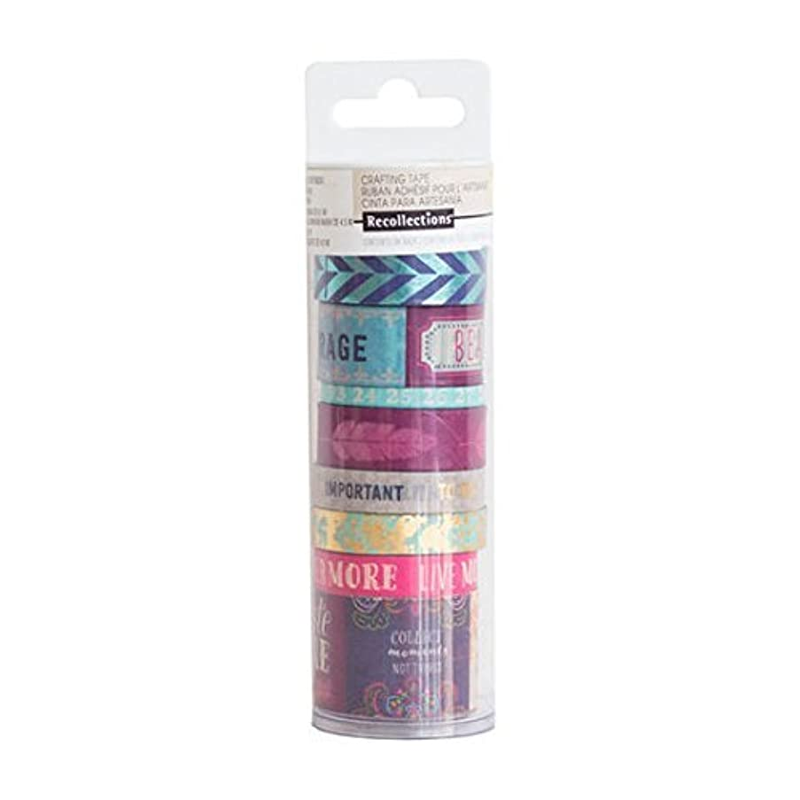 Boho Paper Crafting Washi Tape Tube Recollections 496413