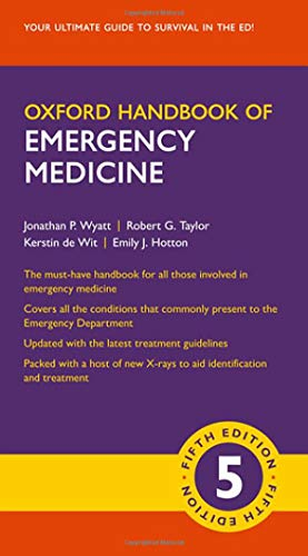 Oxford Handbook of Emergency Medicine (Oxford Medical Handbooks)