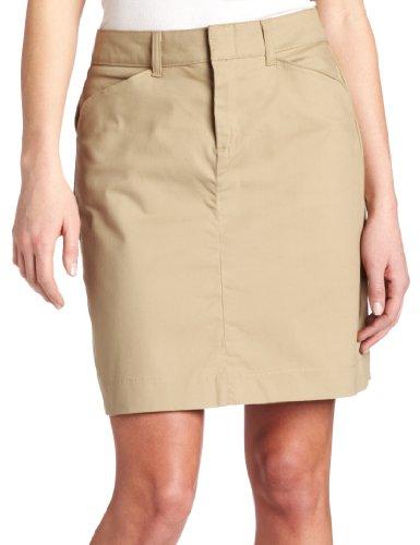 Dickies Women's 20 Inch Stretch Twill Skirt, Desert Sand, 16