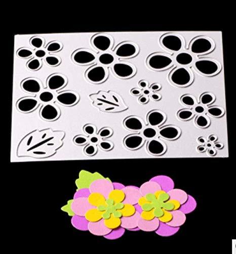 Snijsjabloon puzzel koolstofstaal mes sterven doe-het-zelf bloem mes schimmel metalen sterven voor kaart maken ambacht sterven voor kaart maken 10.4X8.3Cm