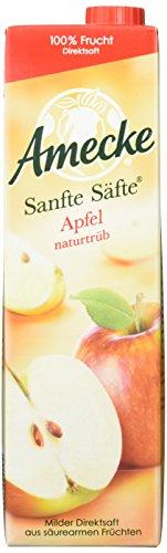Amecke - Sanfte Säfte Apfel Naturtrüb 6 x 1L