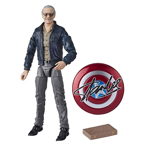 "Hasbro Marvel Legends Series 6"" Collectible Action Figure Toy Marvel's The Avengers Cameo Stan Lee"
