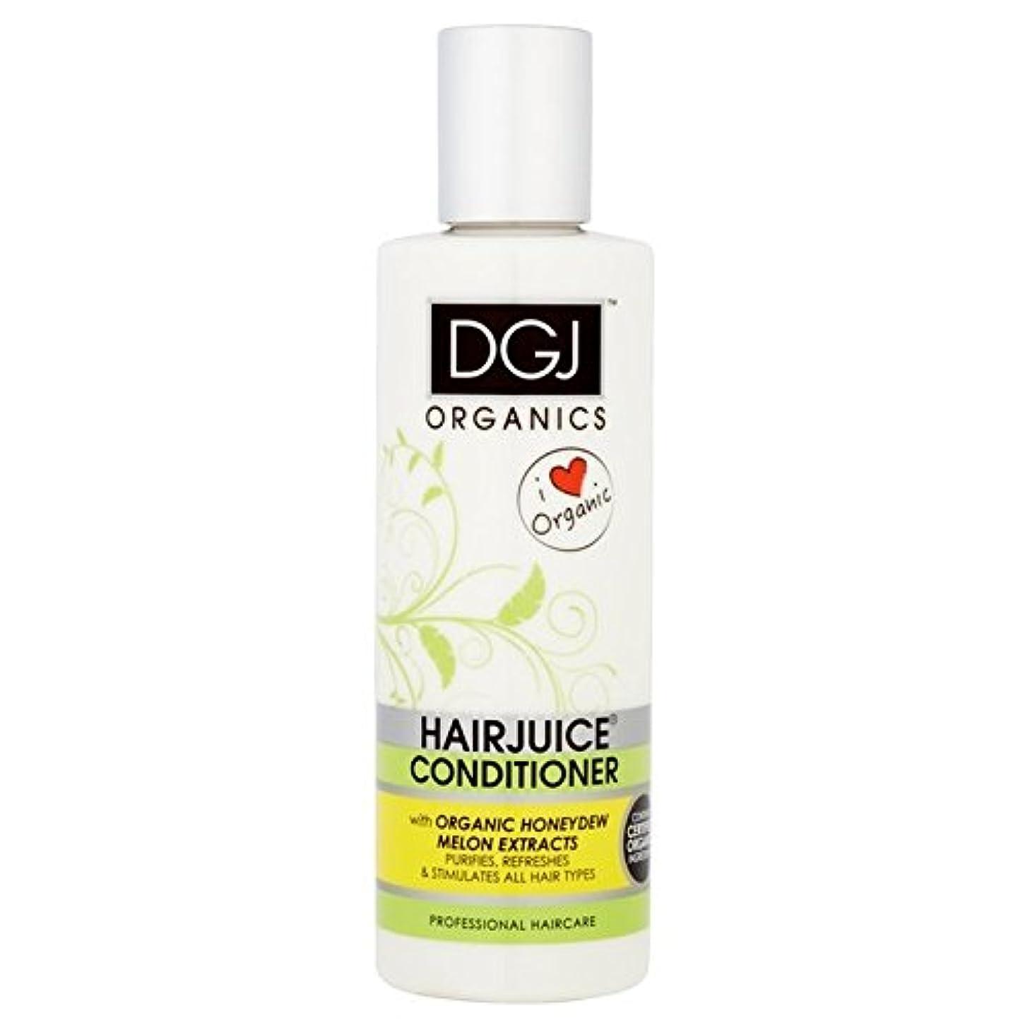 カイウスアルミニウム予約DGJ Organic Hairjuice Melon Conditioner 250ml (Pack of 6) - 有機メロンコンディショナー250 x6 [並行輸入品]