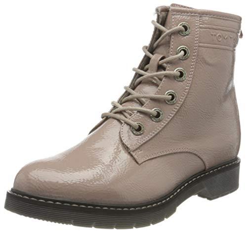 Tom Tailor Womens 9092801 Mid Calf Boot Bootie Boot, Nude, 38 EU