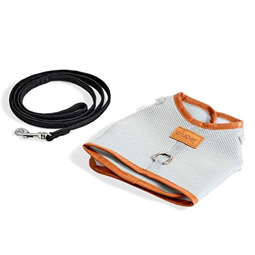 PiuPet® Arnes para Gato Collar Seguro y Robusto (