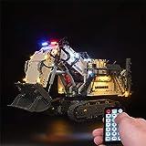 DAN DISCOUNTS Kit de iluminación LED para LEGO Liebherr R 9800 Excavator 42100 piezas de construcción – sin juego Lego