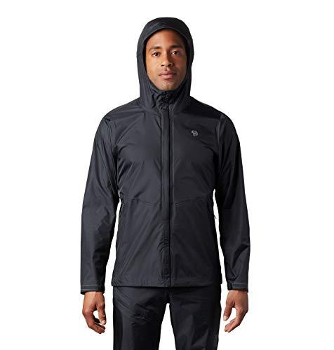 Mountain Hardwear Men's Standard Acadia Jacket, Dark Storm, Medium