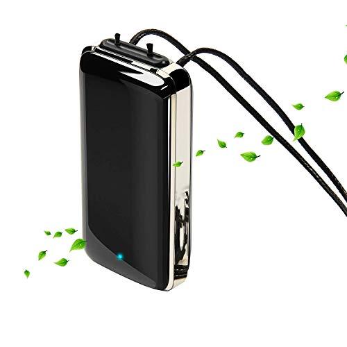 Nrpfell PerssNliche Luft Reiniger Halskette Tragbare Luft Reiniger Halskette, Negative Ionisierende Luft Reiniger Halskette, Tragbar für zu Hause