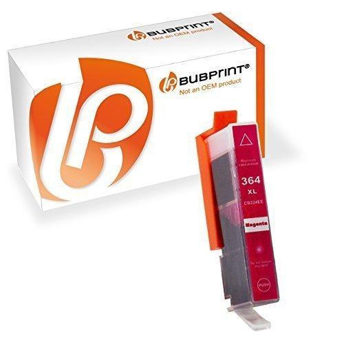 Bubprint Druckerpatrone kompatibel für HP 364XL 364 XL für DeskJet 3070A 3522 OfficeJet 4620 PhotoSmart 5525 6510 7520 e-All-in-One Plus B209A Magenta