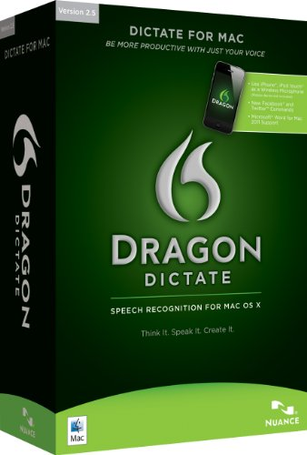 Dragon Dictate v2.5 / Mac / englisch / CD Mini Box
