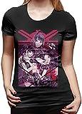 Photo de Biilyy Manches Courtes Femme Babymetal Nice T-Shirt contrasté
