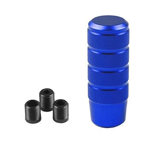 Pomo de palanca de cambios universal antideslizante de 95 mm para palanca de cambios de aluminio moleteado para coche