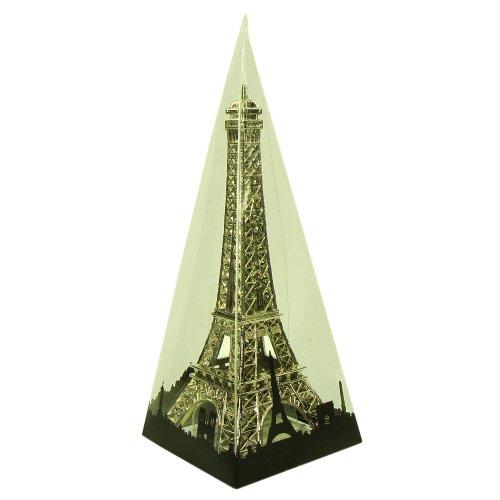 Souvenirs de France - Tour Eiffel Miniature Métal - Couleur : Argent - Taille : 6,5 cm