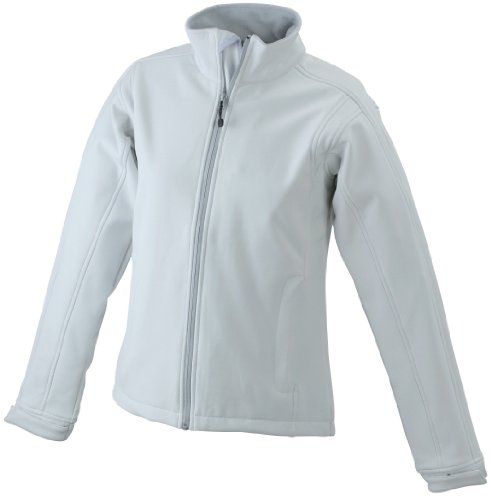 James & Nicholson Damen Jacke Softshelljacke weiß (off-white) Small