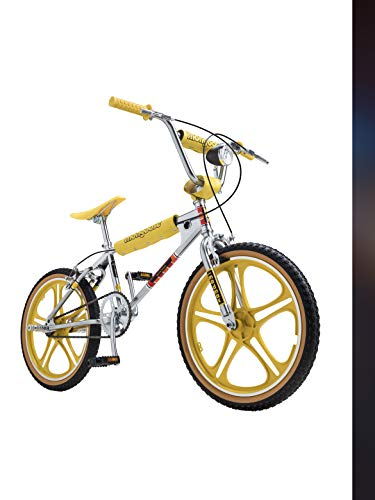 Netflix Stranger Things: Max BMX-Style Bike, 20 in Wheel, Chrome/Yellow